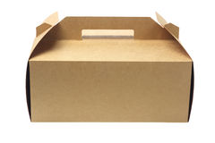 Cake Box Stock Photo