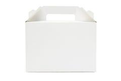 Cake Box. Takeaway Cake Box On White Background Royalty Free Stock Photo