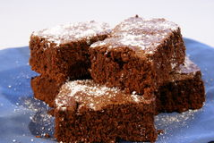 Cake Brownies Stock Photo