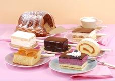 Cake buffet Stock Photography