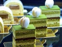 Cake buffet closeup Royalty Free Stock Image