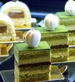 Cake buffet closeup Stock Image