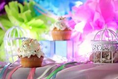 Cake with buttercream celebration Stock Images