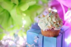 Cake with buttercream celebration Royalty Free Stock Image