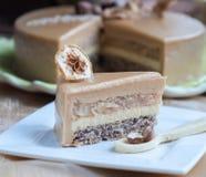 Cake Calvados royalty-vrije stock afbeeldingen