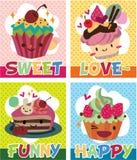 Cake card Royalty Free Stock Photos