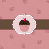 Cake Cards Template Royalty Free Stock Images