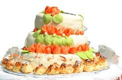 CAKE CEREMONY Royalty Free Stock Photos