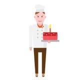 Cake chef Stock Photo
