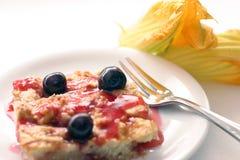 cake cherry cobbler ii στοκ φωτογραφίες