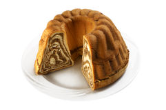 cake chestnut Στοκ φωτογραφία με δικαίωμα ελεύθερης χρήσης