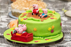 Cake for children Royalty Free Stock Photos