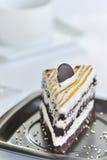 Cake with chocolate Stock Photos