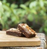 Cake Chocolate brownie Stock Photos