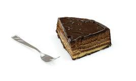cake chocolate slice Стоковая Фотография RF