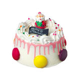 Cake, Christmas ice cream cake Stock Image