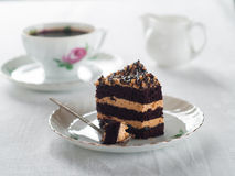 Cake and coffee Stock Photo