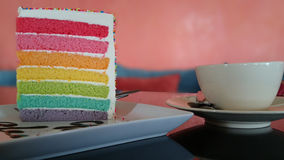 Cake. Coffee sweet coffeeshop stock image