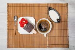 Cake and coffee Stock Photo