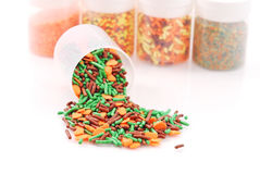 Cake Confetti Stock Photography