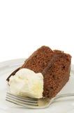 Cake and cream Stock Photos