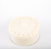 Cake with Cream Cheese Frosting royalty free stock photo