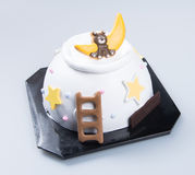 Cake or Creative animals cake on a background. Royalty Free Stock Photography