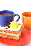 Cake and cup Stock Photo