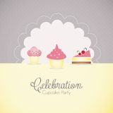 Cake  & Cupcakes icons Stock Photos