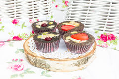 Cake, cupcakes, zoetheid Stock Foto's