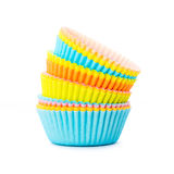 Cake cups Royalty Free Stock Photography