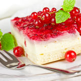 Cake with currants Stock Photo