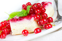 Cake with currants Stock Image