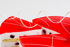 Cake cut Royalty Free Stock Image