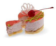 Cake Cuts Stock Images