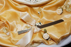 Wedding knife Royalty Free Stock Image