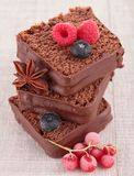 Cake/czekoladowy deser Zdjęcia Royalty Free