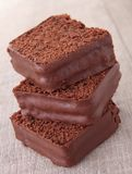 Cake/czekoladowy deser Zdjęcie Royalty Free