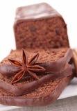 Cake/czekoladowy deser Fotografia Stock
