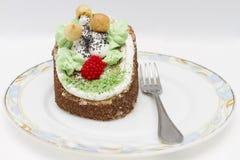 Cake in de bosstijl Royalty-vrije Stock Afbeelding