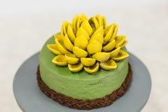 Cake in de vorm van bloem Stock Fotografie