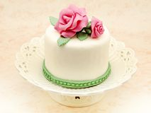 Cake decorated Stock Images