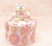 Cake decorated Stock Image