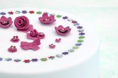 Cake decorated Stock Photos