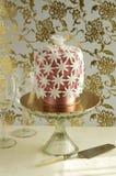 Cake decorated with fondant Stock Photo