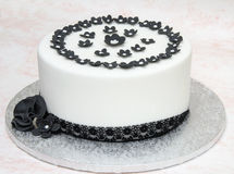 Cake decorated Royalty Free Stock Photos