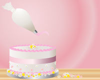 Cake decoration Stock Photography