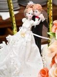 Cake decoration Stock Images