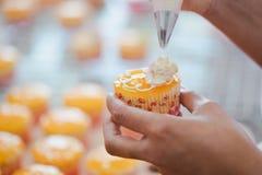 Cake decoration royalty free stock photography