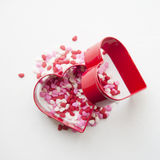 Cake decorations and cookie cutters Royalty Free Stock Image
